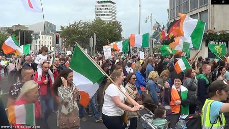 Time for Change Rally attracts Thousands in Dublin City Centre