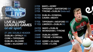 Eir sport announces details of 2018 Allianz Leagues coverage