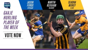 GAA.ie Hurler of the Week nominations