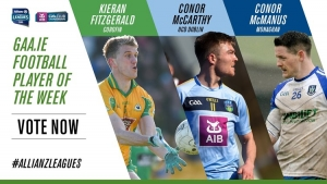 GAA.ie Footballer of the Week nominations