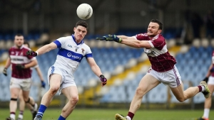 Donal McElligott enjoying Longford journey