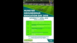 Munster Groundsman Education Day