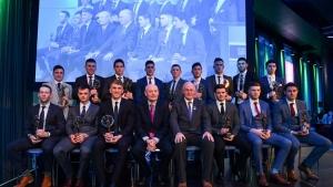 Silke and Moran crowned AIB Club Footballer and Hurler of the Year