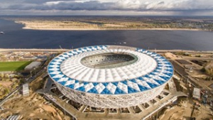 Russia 2018 stadium progress: October 2017