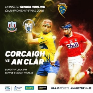 Munster Senior Hurling Final – Cork v Clare – Tickets on sale