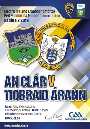 Munster MFC – Clare v Tipperary