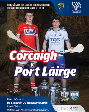 Bord Gais Energy Munster GAA Hurling Under 21 Championship Semi-Final – Cork 0-23 Waterford 1-17