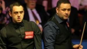World Snooker Championship 2018: Ronnie O'Sullivan beats Stephen Maguire