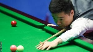 World Snooker Championship 2018: Ding Junhui beats Xiao Guodong 10-3
