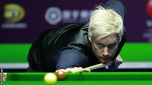 Scottish Open: Ross Muir stuns Neil Robertson despite eye migraine condition