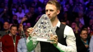 Trump holds off O'Sullivan to win maiden Masters