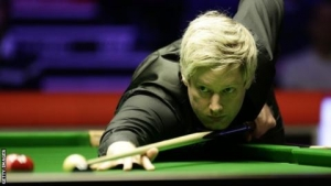 Players Championship: Neil Robertson and Mark Allen through to semi-finals