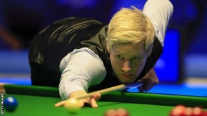 Players Championship: Neil Robertson beats Judd Trump to reach final