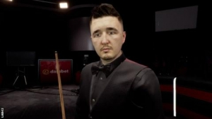 'I'm not smiling, that's about right' - Wilson on snooker's new computer game