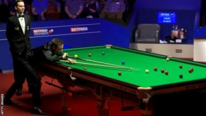 World Snooker Championship: John Higgins trails David Gilbert 5-3 after first session