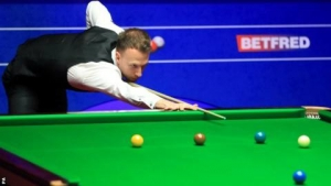 World Snooker Championship: Trump and Wilson all square while Higgins trails Gilbert