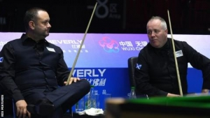 Scotland's John Higgins and Stephen Maguire beat China B to win World Cup
