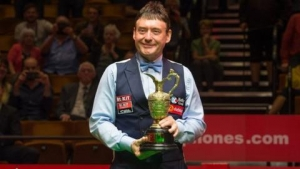 Finally ... Jimmy White wins a world title at the Crucible