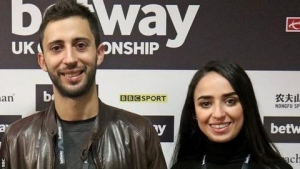 Yousra Matine & Amine Amiri - African snooker's golden couple