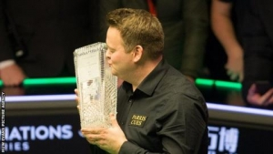 Welsh Open: Shaun Murphy wins Welsh Open with 9-1 win over Kyren Wilson