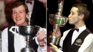 World Snooker Championship: Stephen Hendry & Steve Davis relive Crucible classics