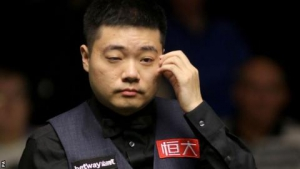 UK Snooker Championship 2017: Ding Junhui loses to world number 130 Leo Fernandez