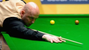UK Snooker Championship 2017: Mark King beats former winner John Higgins