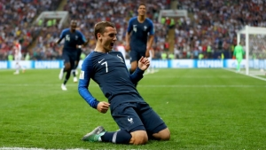 Griezmann: World Cup win hasn't fully sunk in yet