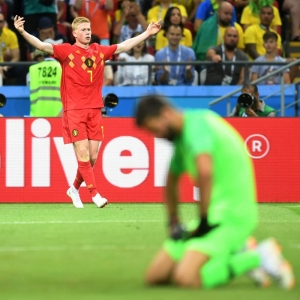 Red Devils see off Brazil to reach semis