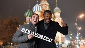 Join Kerzhakov and Desailly at the FIFA Fan Fest