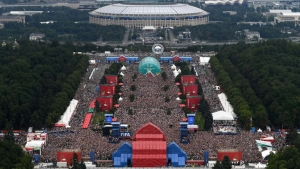 7.7 million football fans visit FIFA Fan Fest during Russia 2018