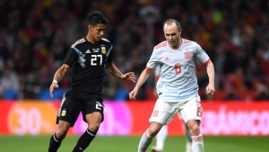 Lopetegui: We're excited about seeing Iniesta in Russia