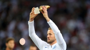 Kane receives adidas Golden Boot at Wembley
