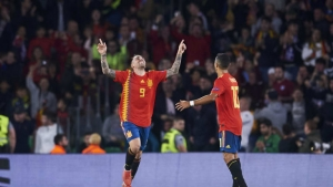 Triumphant return for Alcacer