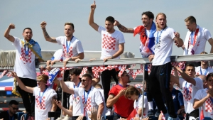 Croatia return home to a heroes' welcome